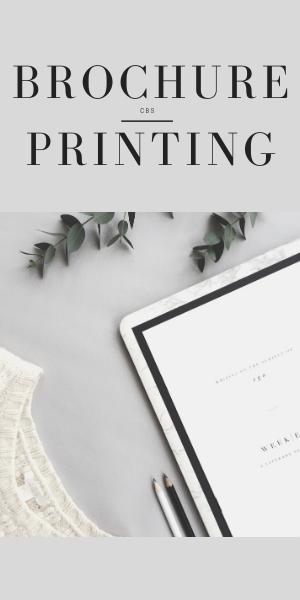 Brochure Printing CBS Printing